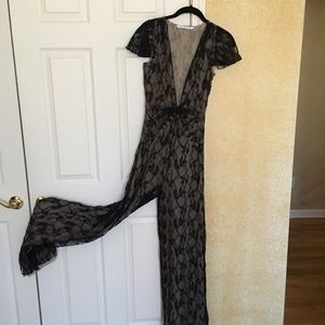 NEW DVF LACE JUMPSUIT